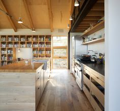 Photo 4 of 6 in Top 5 Homes of the Week With Libraries We Love from Sunshine Canyon House - Dwell