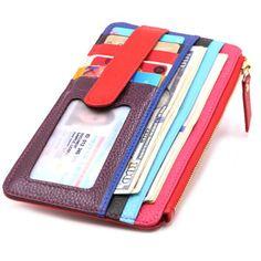 Womens Credit Card Holder Wallet