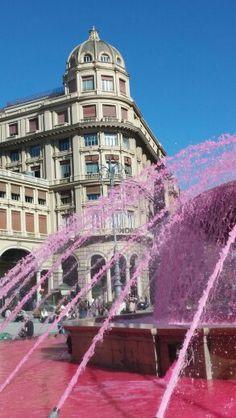 Piazza De Ferrari Settimana del teatro e della cultura