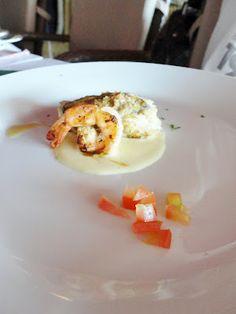 filé de sirigado com camarões da Costa Negra ao molho de champagne com crosta de foie gras #banquetedoschefs
