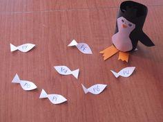 Pingwin je rybę PA czytanie sylabowe #czytanie_sylabowe #nauka_czytania #logopedia #dziecko #metoda_krakowska