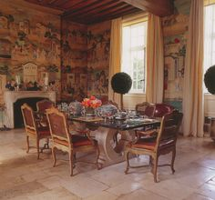 GIVENCHY'S CHATEAU   Mark D. Sikes: Chic People, Glamorous Places, Stylish Things