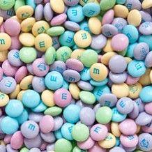 pastel m&ms