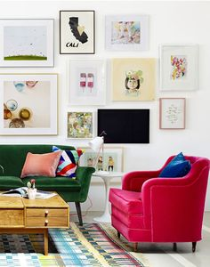 Six Tips for Hanging the Perfect Gallery Wall