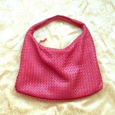 Bottega Veneta Large Sac Hobo Bag Used, red Veneta hobo bag. Beautifully made. Bottega Veneta Bags Hobos