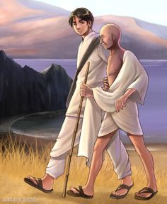 Hetalia - Country and their ruler - India and Gandhi