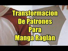 📐Como Hacer Patron👕 de Manga Raglan - YouTube Manga Raglan, Sewing Hacks, The Creator, Youtube, Make It Yourself, Pattern, Sleeve Pattern, Men's Sweatshirts, Modeling
