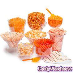42 best orange candy buffet images orange candy buffet dessert rh pinterest com