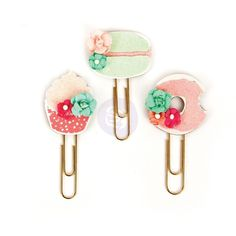Sweet Tooth My Prima Planner Clips