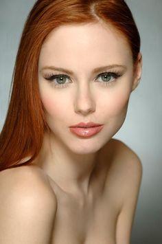 pinterest.com/fra411 #redhair #beauty - Natural Beauty