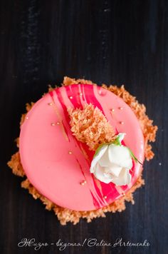 """Торт """"Персик и каталонский крем""""   """"Жизнь - вкусная!"""": кулинарный блог Галины Артеменко; Praline - домашняя кондитерская студия"""