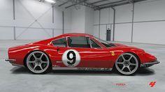 Ferrari Dino 246 GT de ELIE GUITARMAN dans la vitrine de Forza Motorsport 4