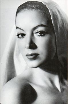 """María de los Ángeles Félix Guereña, """"La Doña"""" (8 April 1914 – 8 April 2002) was a Mexican film actress."""