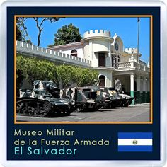 $3.29 - Acrylic Fridge Magnet: El Salvador. San Salvador. Military Museum