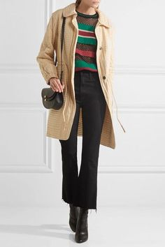 Isabel Marant - Boyd Quilted Cotton Coat - Ecru - FR