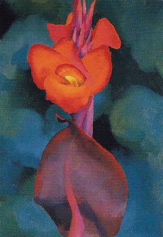 Red Canna B (1919) by Georgia O'Keeffe