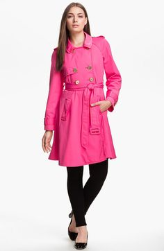 Kate Spade Pink Trench Coat