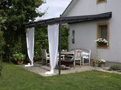 wetterschutzrollo windschutz terrasse carport garten pinterest windschutz terrasse. Black Bedroom Furniture Sets. Home Design Ideas