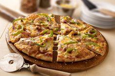 California-Style Barbecue Chicken Pizza recipe