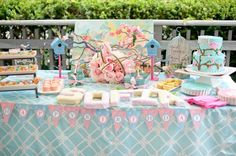 Cherry Blossom and Birds Themed 1st Birthday Party by Sarah Sofia Productions