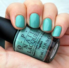 OPI mermaid tears. LOVE this color. I wear it all the time