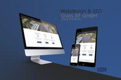 Webdesign & SEO for grass-metall. Web Design, Seo, Grass, Grasses, Website Designs, Herb, Site Design