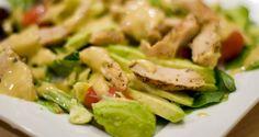 Ensalada de pollo con aguacate, una receta fabulosa - Sabrosía