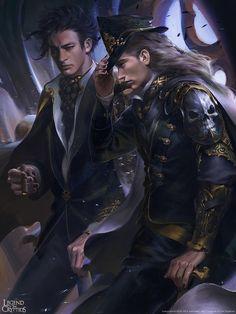 Artist: Mingzhu Yang aka akira1208 - Title: Unknown - Card: Vulci, Demon Admiral