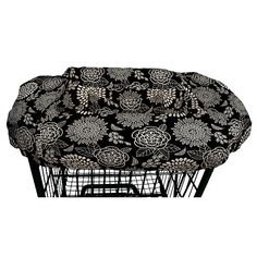 The Peanut Shell Shopping Cart Cover- Tea Time