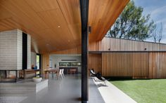The best residential interior designs of 2014 Hover House (Vic) by Bower Architecture. Materiality