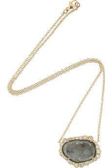 18-karat Rose Gold Diamond Necklace - one size Kimberly McDonald Cheap Limited Edition X7YSXnN