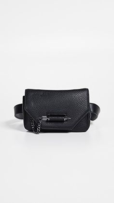 269546e2c4f5 Mackage Devin Money Belt Bag Pebbled Leather, Dust Bag, Belt Bags, Fanny  Pack