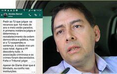 O ASSUNTO É!?: TJMS devolve cargo de prefeito a Alcides Bernal