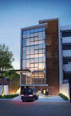 HMP Architects #fachadasminimalistasdepartamentos