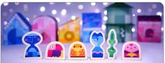 Paperized: Google Doodles Papercraft