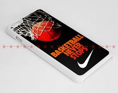 Never Stop Nlke Basketball in iPhone Case, iPod Case and Samsung Galaxy Case by WHARWHERTOCK on Etsy