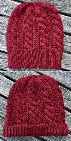 Beanie Knitting Patterns Free, Baby Hats Knitting, Baby Knitting Patterns, Loom Knitting, Free Knitting, Beanie Pattern, Knitted Hats, Crochet Patterns, Knitted Baby Beanies