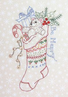 free embroidery pattern from Crabapple Hill