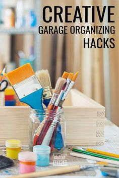When you are looking at a messy garage and don't know where to start, this is for you. These are the best organization ideas for your garage. Garage Workshop Organization, Home Organization Hacks, Organizing Your Home, Organizing Tips, Metal Shelving Units, Outdoor Toys For Kids, Getting Rid Of Clutter, Diy Garage, Sports Equipment