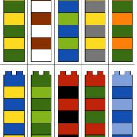 Lego Duplo - barevné věže - šablona Lego Duplo, Playroom, Bar Chart, Math Resources, Lego Duplo Table, Game Room Kids, Game Rooms, Bar Graphs, Playrooms