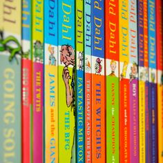 roald dahl ! i will make sure i read these to my children some day.