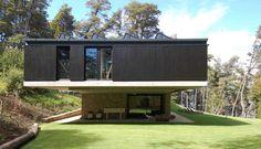 Casa Techos, Nahuelhuapi, Argentina by Mathias Klotz   Architecture