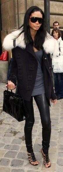 Street style - Chanel Iman | LBV ♥✤ | KeepSmiling | BeStayElegant