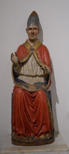 Siena Seguace Arnolfo di Cambio papa Clemente (my photo)