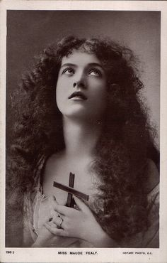 Maude Fealy - Rotary 198j by Maude Fealy Postcard Gallery, via Flickr