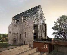 Kombination von alter und moderner Architektur #moderne #architektur #modernearchitektur