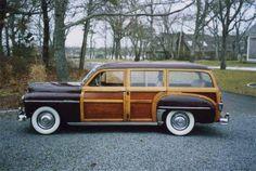 Plymouth Woody Wagon - 1950