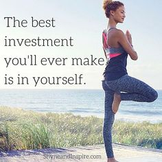 Take the time to invest in the things that you hold a passion for and that make you feel at peace. It will give you strength in other aspects of your life. #MondayMotivation #success #fitgirl #fitness #motivation #inspiration