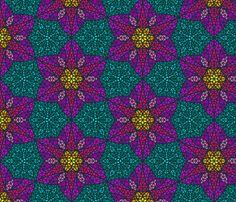 Harmony_mosaic fabric by lilichi on Spoonflower - custom fabric