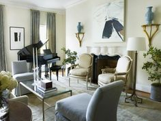 living room design idea - Home and Garden Design Idea's